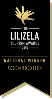 Kgarebana Boutique Bed and Breakfast Winners of the 2015 Lilizela National Tourism Awards